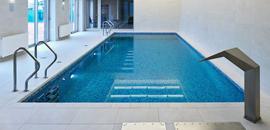 бассейн из мозаики