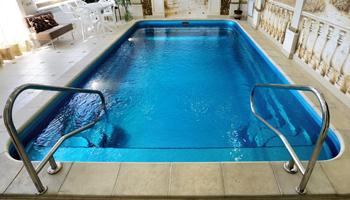 Строительство бассейна из композита (стеклопластика)