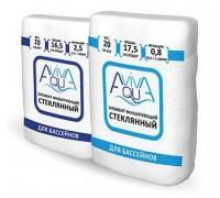 Песок стеклянный Aquaviva для фильтра бассейна фракция 0,5-1,5 мм. (20 кг.)