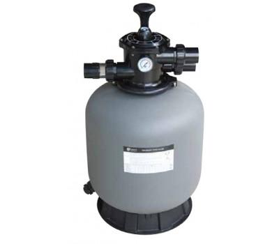 Фильтр для бассейна Abletech P500 д. 527 мм. с 6-ти поз. вентилем, верх. соединение