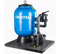 Фильтровальная установка (600мм, 13м3/ч) (бок. подсоед.) Behncke Cristall D600