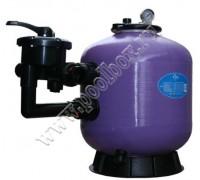 """Фильтр для бассейна д.450мм (бок. подсоед. 40мм) Emaux S450 (Opus) (с 6-ти поз. вентилем 1 1/2"""")"""