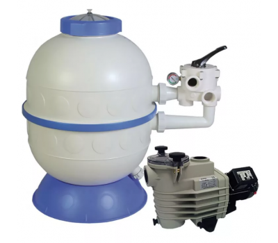 Фильтровальная установка (600мм, 14.5м3/ч) (бок. подсоед.) Kripsol GRANADA GLO606-100
