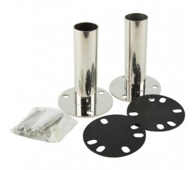 Адаптер из нерж. стали для установки лестниц Aquaviva на борт бассейна (комплект, 2 шт.)