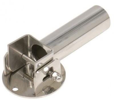 Адаптер откидной из нерж. стали для установки лестниц на борт бассейна Flexinox (компл.2шт.)