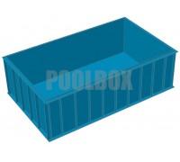 Чаша бассейна, 5,0*3,0*1,5 м., из полипропилена IMG Bohemia, Чехия