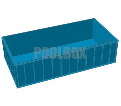 Полипропиленовый бассейн 6,0*3,0*1,5 м.
