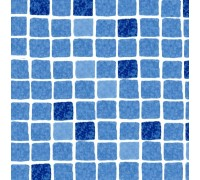 Пленка ПВХ (лайнер) SUPRA blue mosaic Elbtal Plastics 1,5 мм. мозаика