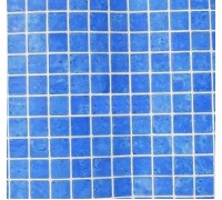 Пленка ПВХ (лайнер) GLOSSY PRINTED MOSAIC BLUE EASY WELDING FLAGPOOL мозаика