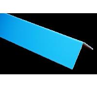 Крепежный уголок ПВХ/нерж. сталь 0,05*0,03*2,0 м. Aquaviva, наружный