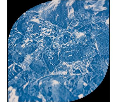 Пленка ПВХ (лайнер) Cefil Cyprus1,5 мм. голубой мрамор