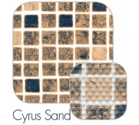 Пленка ПВХ (лайнер) CGT PF4000 1,5 мм. Cyrus Sand песочная мозаика