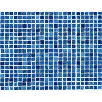 Пленка ПВХ (лайнер) RENOLIT ALKORPLAN 3000 1,5 мм. Blue Greek мозаика