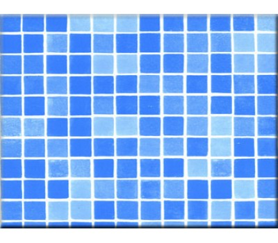 Пленка ПВХ (лайнер)  RENOLIT ALKORPLAN 3000 1,5 мм. Bysance Blue мозаика