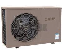 Тепловой насос 3-10 кВт BRILIX inverBOOST XHPFD100 E инверторный (до 40 м.куб., подогрев/охлаждение)