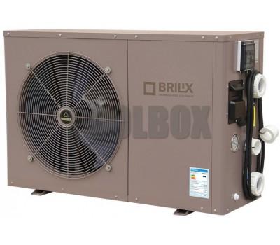 Тепловой насос 3.8-17 кВт BRILIX inverBOOST XHPFD160 E инверторный (до 75 м.куб., подогрев/охлаждение)