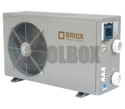 Тепловой насос BRILIX XHPFDPLUS 200 для бассейнов до 90 м3 (компрессор HITACHI)