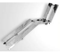 Лежак аэромассажный двойной из нерж. стали, под плитку, АТ 02.15