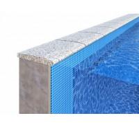 Бордюрный камень для отделки борта бассейна «Домик»