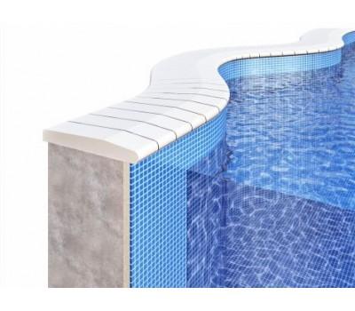 Бордюрный камень для отделки борта бассейна любой формы «Free Form»