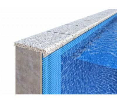Бордюрный камень для отделки борта бассейна «Г»-образной формы