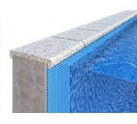 Бордюрный камень для отделки борта бассейна «П»-образной формы