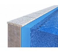 Бордюрный камень для отделки борта бассейна «Плоский»