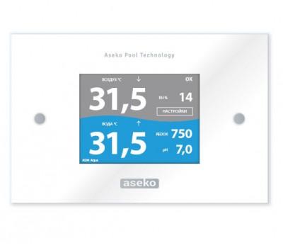 Внешний сенсорный, информационный дисплей EXT, Aseko