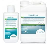 Дезальгин джет химия для бассейна, против зеленения и водорослей, непенящийся