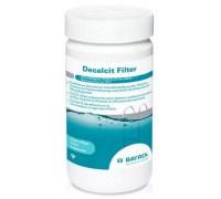 Декальцит Фильтр 1 кг химия для бассейна, чистка фильтра от кальция