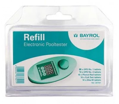 Комплект таблеток для электронного тестера Pooltester Bayrol, Bayrol