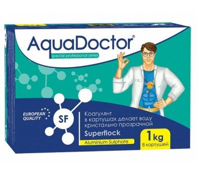 AquaDoctor Superflock коагулянт, удаление взвесей в бассейне