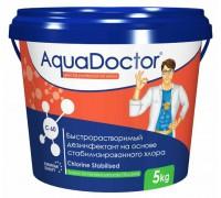 AquaDoctor C-60 (гранулы) на основе хлора, быстрого действия