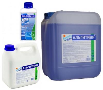 АЛЬГИТИНН (альгицид) химия для бассейна против роста водорослей