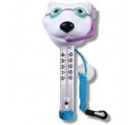 Термометр игрушка Kokido TM07DIS/C Белый медведь