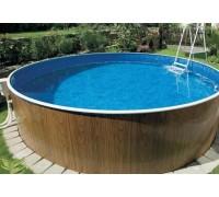 Каркасный бассейн AZURO 403 DL д. 5,5х1.2 м. (круг), Mountfield