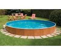 Каркасный бассейн AZURO 401 DL д. 4,6х1.1 м. (круг), Mountfield