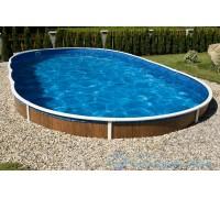Каркасный бассейн AZURO 407 DL д. 9.1x4.6х1.2 м. (овал), Mountfield