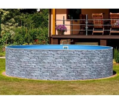 Каркасный бассейн AZURO Stone д. 3,6х1.2 м. (круг), Mountfield