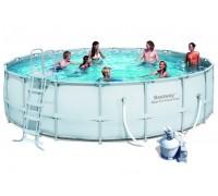 Каркасный бассейн Bestway (д.5,49x1,32 м.) 56464/56280 с песочным фильтром