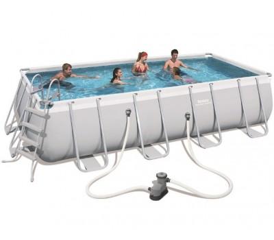Каркасный бассейн Bestway (5,49x2,74x1,22 м.) 56465 с картриджным фильтром
