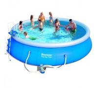 Надувной бассейн Bestway (5,49х1,22 м.) 57122 с картриджным фильтром