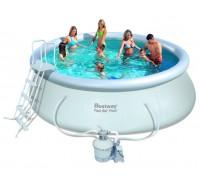 Надувной бассейн Bestway (4,57х1,22 м.) 57242 с песочным фильтром