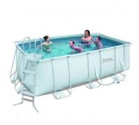 Каркасный бассейн Bestway (4.12х2.01х1.22 м.) 56456/56241 с картриджным фильтром