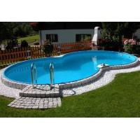 Каркасный бассейн Exklusiv 8-Form 6,25х3,6х1,5 м. (восьмерка) Summer Fun (каркас/пленка)