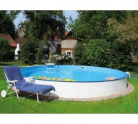 Каркасный бассейн Exklusiv д.3,5 х 1,5 м. (круг) Summer Fun (каркас/пленка)