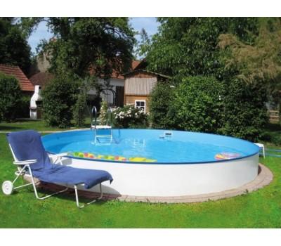 Каркасный бассейн Exklusiv д.4,5 х 1,2 м. (круг) Summer Fun