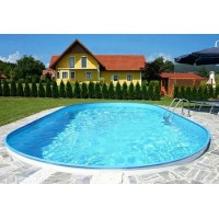 Каркасный бассейн Exklusiv Ovalform 5,0х3,0х1,5 м. (овал) Summer Fun (каркас/пленка)