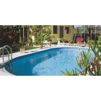 Каркасный бассейн Exklusiv Ovalform 5,25х3,2х1,5 м. (овал) Summer Fun (каркас/пленка)