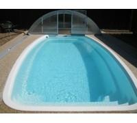 Композитный бассейн Тахо 4,4*3,0*1,4 м. FIBERPOOLS